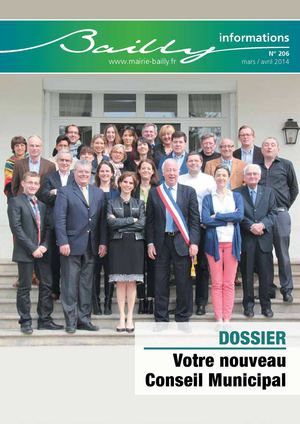 Bailly informations n°206 (Mars-Avril 2014)