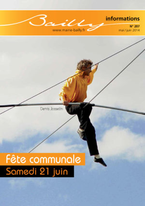 Bailly informations n°207 (Mai-Juin 2014)