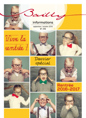 Bailly Informations n° 218 (Sept-Oct 2016)