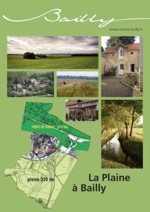 Plaquette Plaine de Versailles