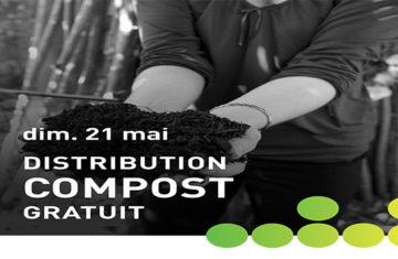 distribution de compost