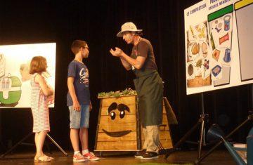 Les enfants sensibilisés sur les bons gestes du compostage