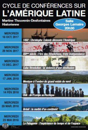 5ème conférence – Chili : de l'Europe au Pacifique