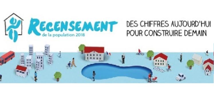 Recensement de la population de Bailly, du 18 janvier au 17 février 2018