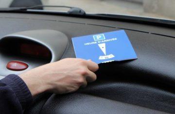 ZONE BLEUE : Disques de stationnement disponibles en mairie