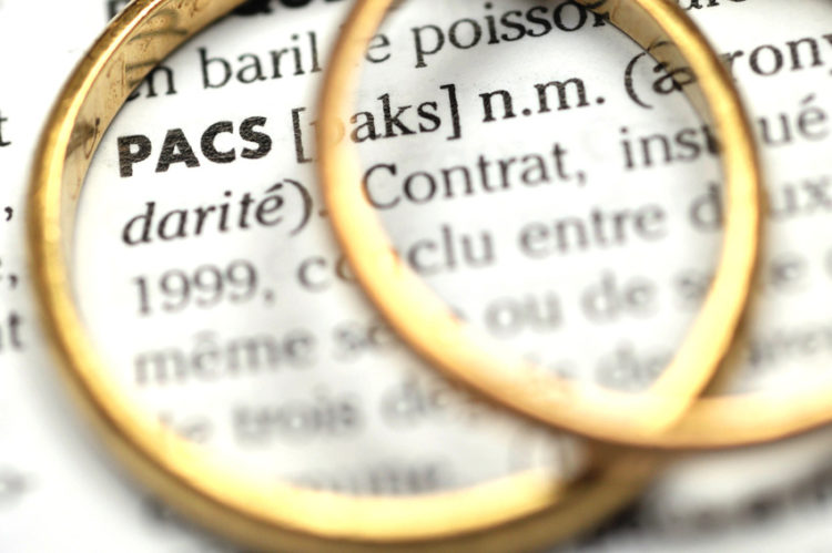 Pacte civil de solidarite – PACS