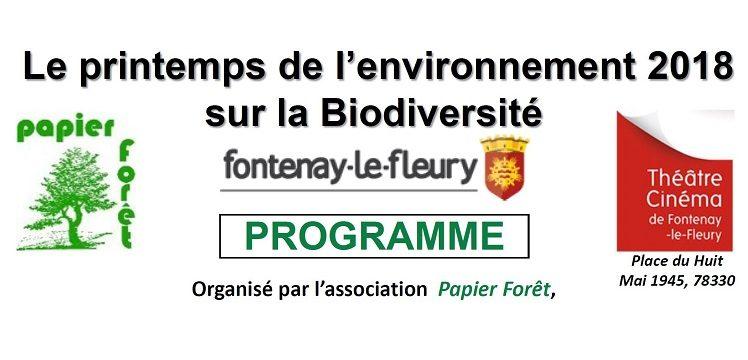 Le Printemps de l'Environnement à Fontenay-le-Fleury du 18 au 25 mars : La biodiversité locale