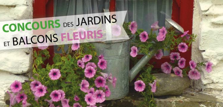 Concours des jardins et balcons fleuris