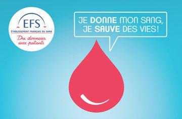 Collecte de don du sang