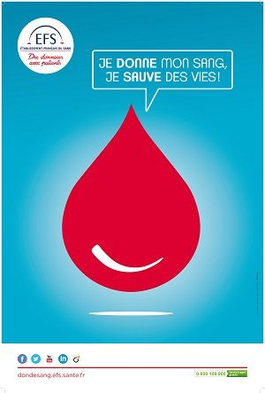 Neuvième collecte de don du sang