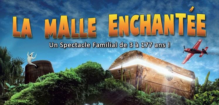 Spectacle magie «La Malle Enchantée»