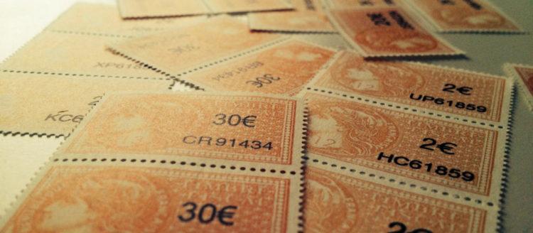 Arrêt des ventes de timbres fiscaux dans les centres de finances publiques du département