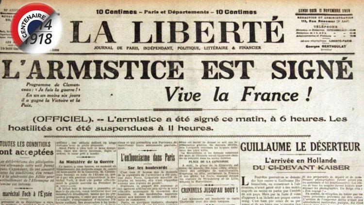 Centenaire de l'armistice de 1918