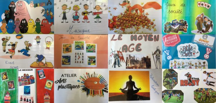 Accueils de loisirs : ateliers du mercredi