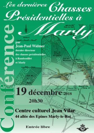 Conférence : les dernières chasses présidentielles à Marly-le-Roi
