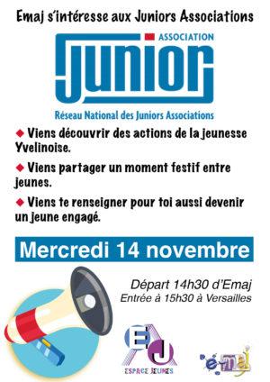 EMAJ s'intéresse aux Juniors Associations !