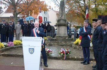 Commémoration du 11 novembre 2018 – Centenaire de l'Armistice