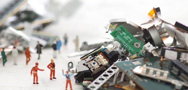 Les déchets d'équipement électrique et électronique (DEEE) ? Recyclons-les !