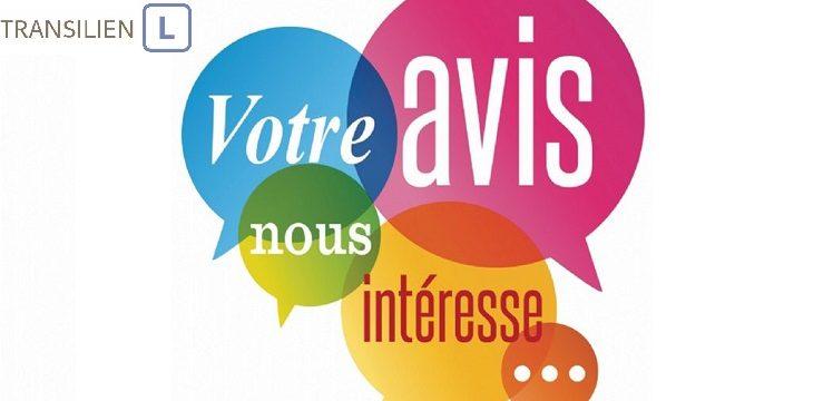 Enquête pour les utilisateurs de la ligne L du Transilien branche de Noisy-le-Roi à Saint-Germain-en-Laye GC (ex GCO)
