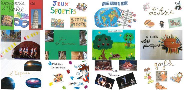 Accueil de loisirs : ateliers du mercredi (mai-juin 2019)