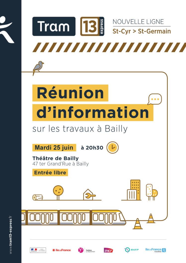 TRAM 13 Express : Réunion publique