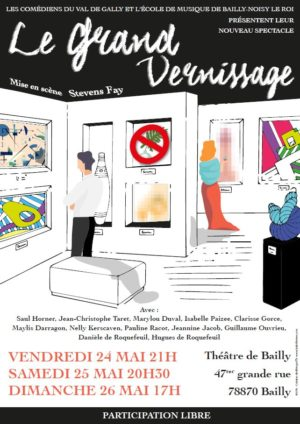Spectacle : Le grand vernissage