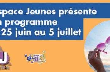 ESPACE JEUNES : Programme pré vacances