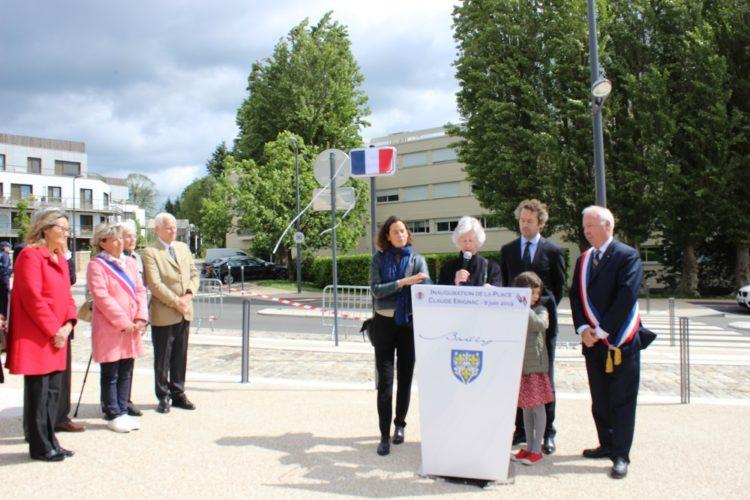 Inauguration de la place Claude Erignac