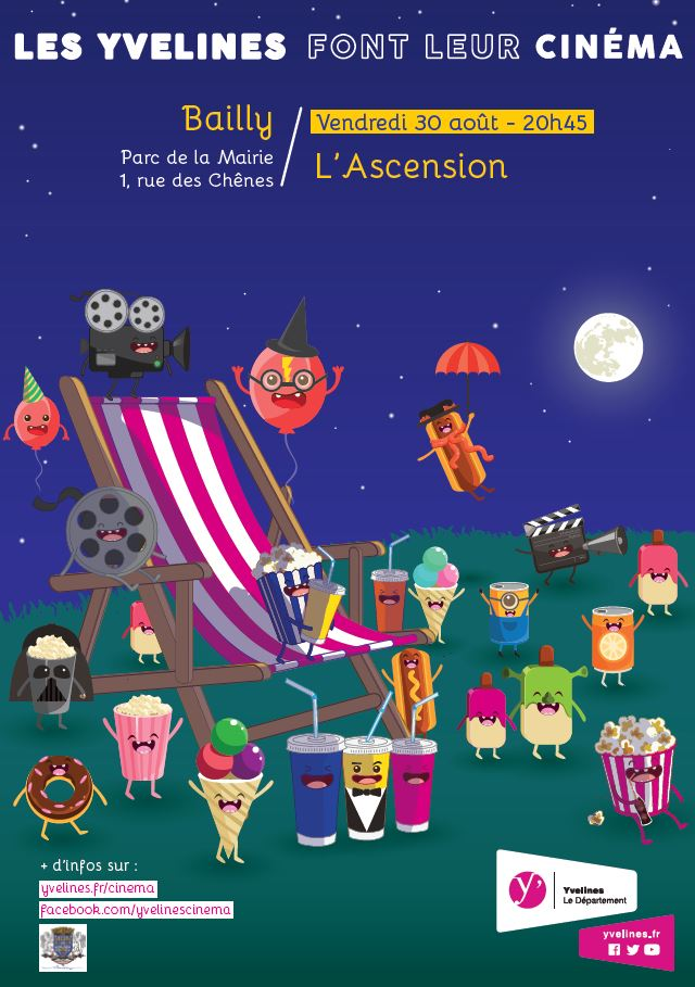 Cinéma en plein air « L'ascension »