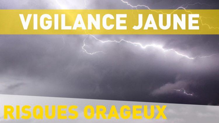 Alerte JAUNE pour les orages et la canicule dans les Yvelines