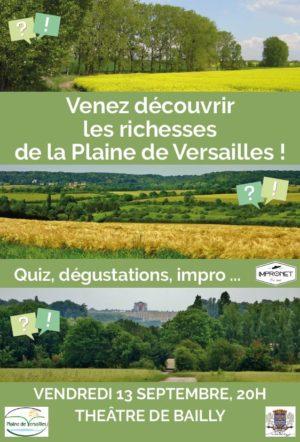 Venez découvrir les richesses de la Plaine de Versailles !