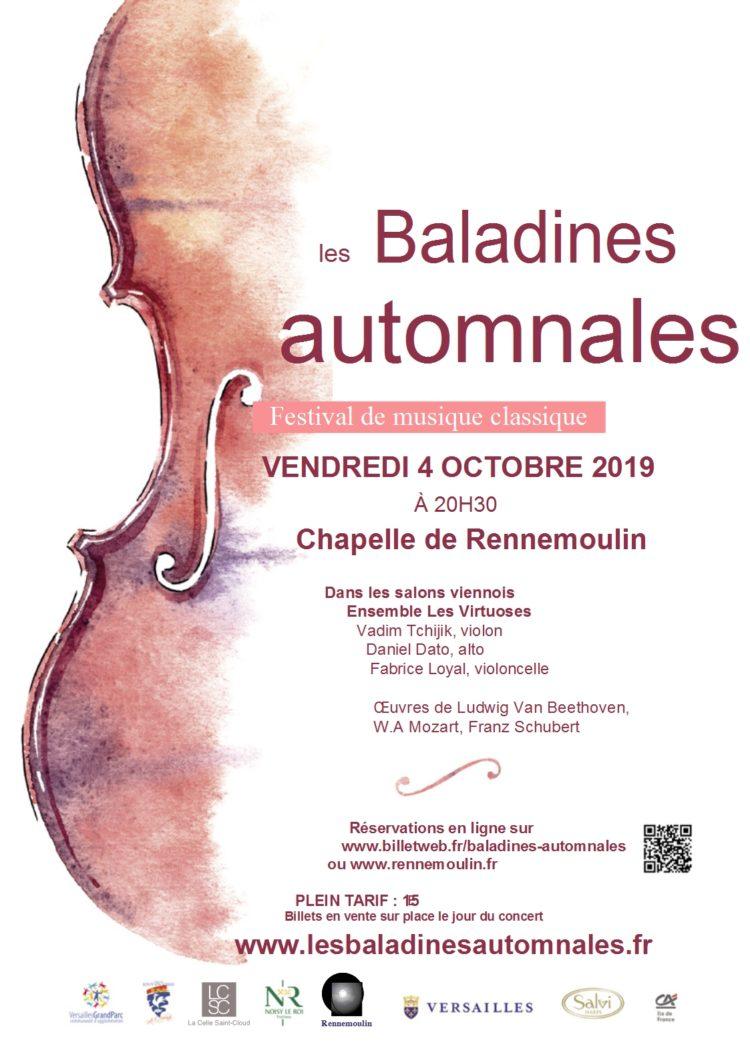 Les baladines automnales (festival de musique classique)
