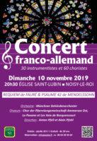 Concert franco-allemand à l'Eglise Saint-Lubin