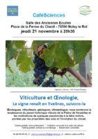 Café Sciences – Viticulture et Oenologie