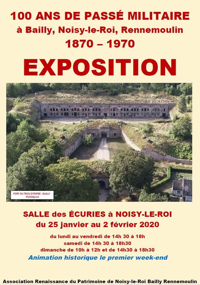 EXPOSITION : 100 ans de passé militaire