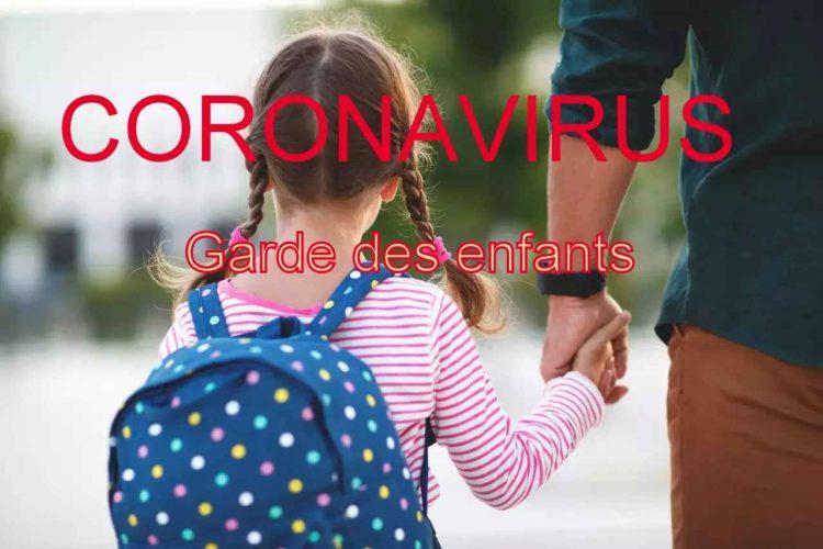 GARDE DES ENFANTS DES PERSONNELS INDISPENSABLES A LA GESTION DE LA CRISE SANITAIRE