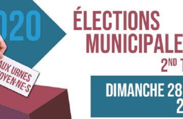 28 juin – 2ème tour élection municipale