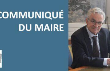Le communiqué du maire – 22 janvier 2021 – Mesures applicables et vaccins