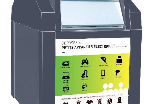 Collecte des petits appareils électriques