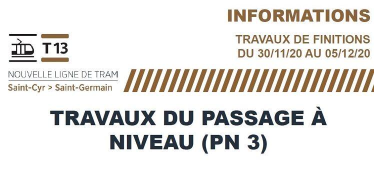 TRAM 13 EXPRESS : Travaux rue du Plan de l'Aître du 30 nov au 5 déc