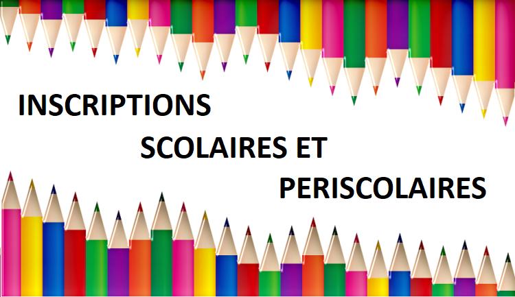 Inscriptions scolaires et périscolaires 2021-2022