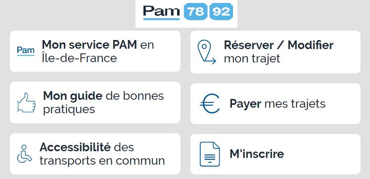 Campagne de vaccination Covid-19, le service «Pour Aider à la Mobilité (PAM)»78-92 se mobilise !