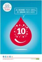 Dixième collecte de don du sang (Bailly)