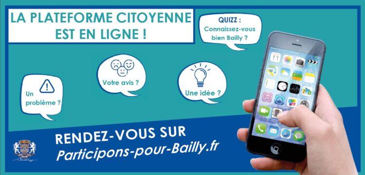 La plateforme citoyenne est en ligne !