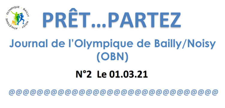 Journal n°2 de l'Olympique Bailly Noisy (OBN)