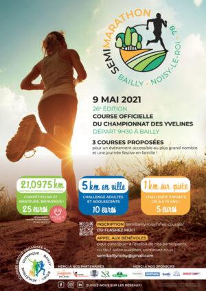 Semi-marathon Bailly-Noisy 2021