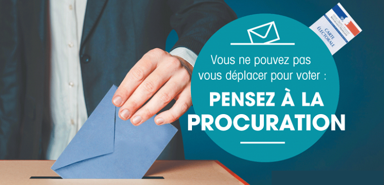 Élections : dès le 6 avril, faites vos demandes de procuration en ligne !