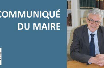 Communiqué du maire du 18 juin 2021 : Fin du couvre-feu et allègement de l'obligation du port du masque