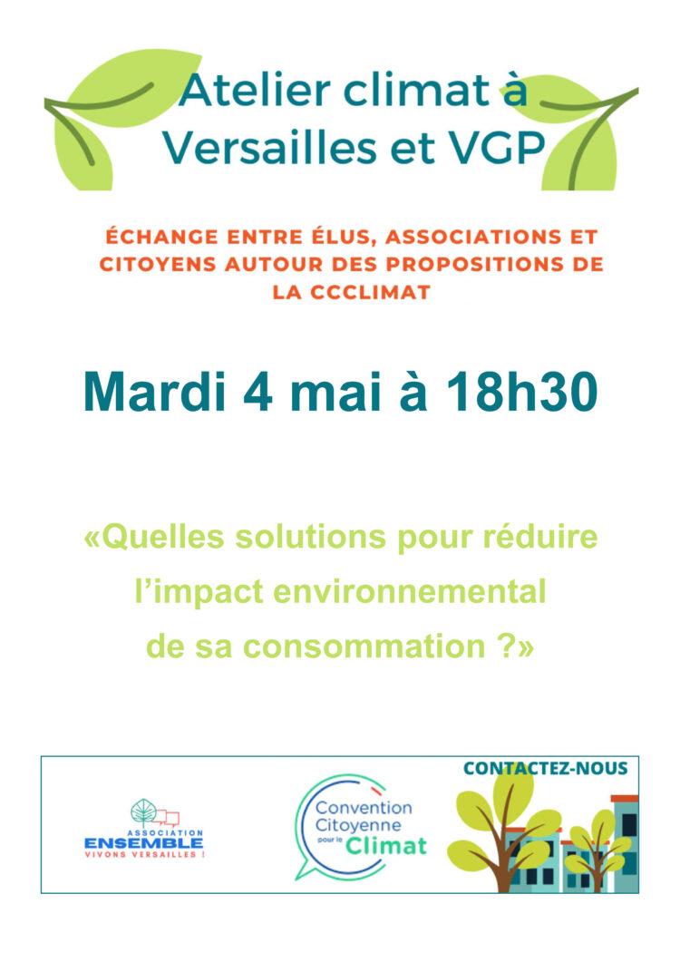 Atelier Climat VGP en ligne