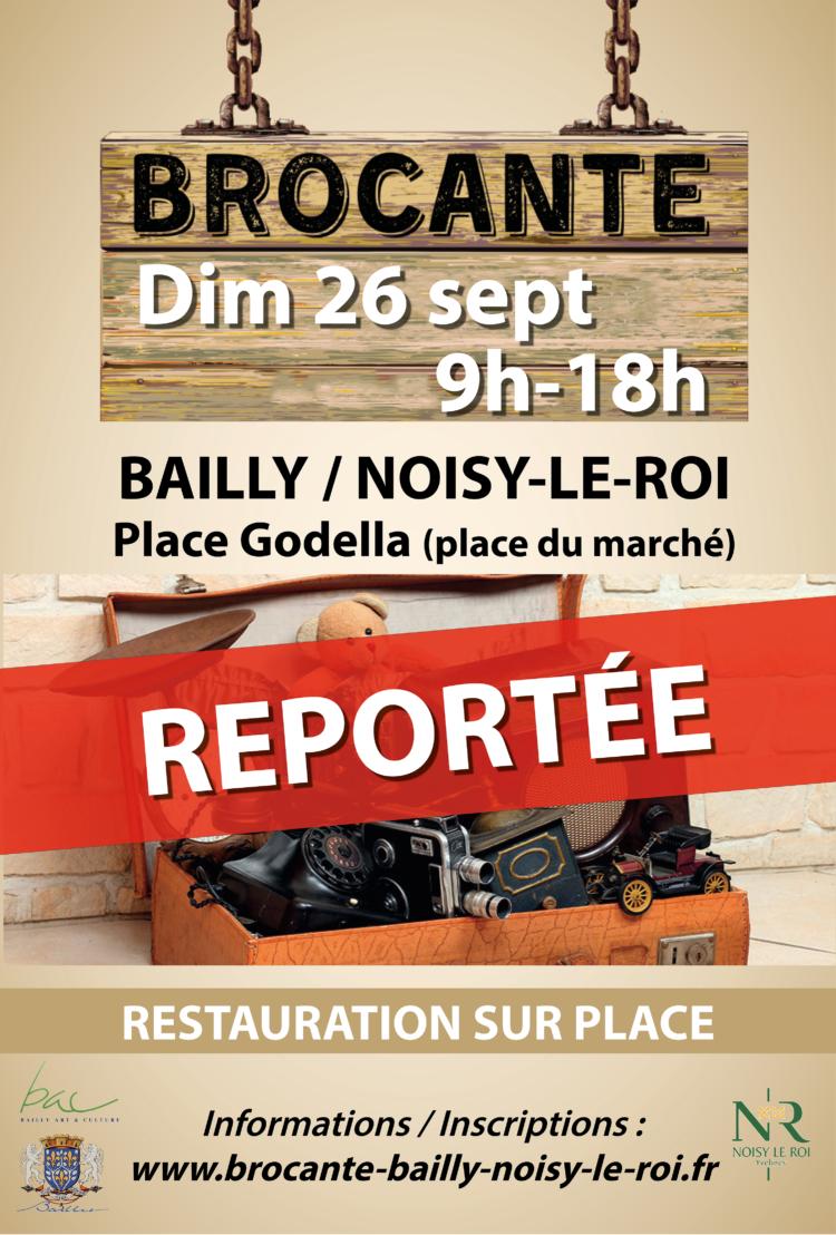 Brocante de Bailly / Noisy-le-Roi REPORTÉE